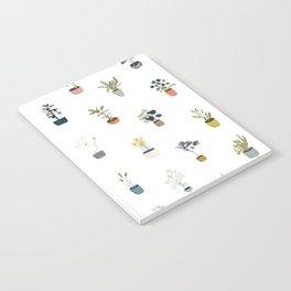 plants in pots Notebook