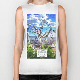 You can be as high as you want. Biker Tank
