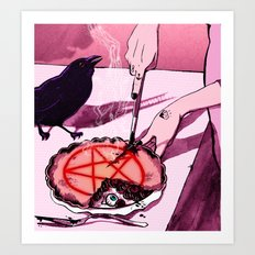 Mrs.Crowley's Old Fashioned Cherry Pie, Digital Version. Art Print