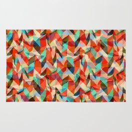 Abstract Chevron Rug