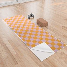 Tangerine Fizz Yoga Towel