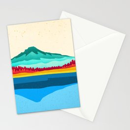 Mount Hood and Trillium Lake Stationery Cards