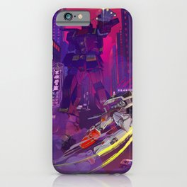 Gundam 40th Anniversary Psycho Gundam iPhone Case