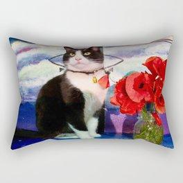Orazio and the poppies Rectangular Pillow