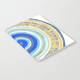 Turquoise Evil Eye Mandala Notebook
