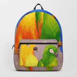 Parrots friends Backpack