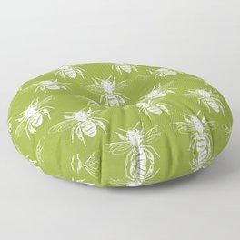The Bee's Knees Green Floor Pillow