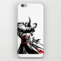 assassins creed iPhone & iPod Skins featuring Assassins Creed  by iankingart