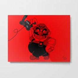 Wario boy Metal Print
