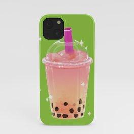 Frozen Boba Tea iPhone Case