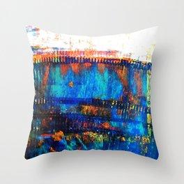 Blue Brane S20 Throw Pillow