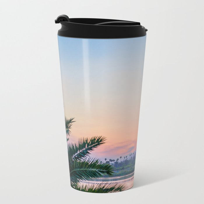 Santa Barbara Metal Travel Mug