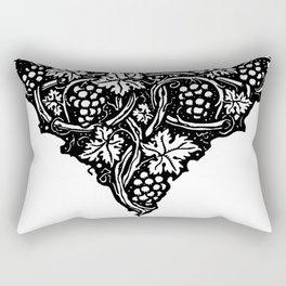 A Tailpiece of Grape Vines Rectangular Pillow