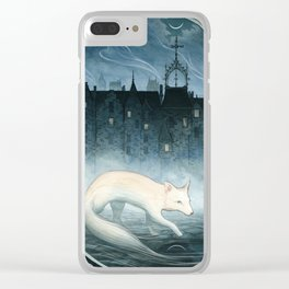 Boundary Walker Clear iPhone Case