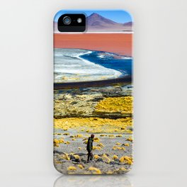 Laguna Colorada iPhone Case