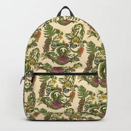 Botanical French Bulldog Backpack
