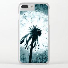 Dandelion Art 6 Clear iPhone Case