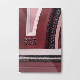 San Francisco IX Metal Print