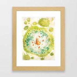 Nishigikoi Framed Art Print