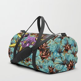 The Sphynx and the Flowers Duffle Bag
