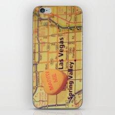 Marry Me Las Vegas iPhone & iPod Skin