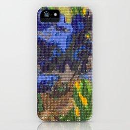 #012 - Beaded Iris iPhone Case