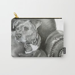 Leather And STEEL Carry-All Pouch