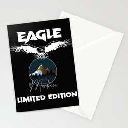 Montrose Eagle Limited Edition Funny Stationery Cards