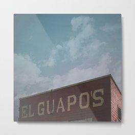 El Guapo's Building in Denton, TX Metal Print