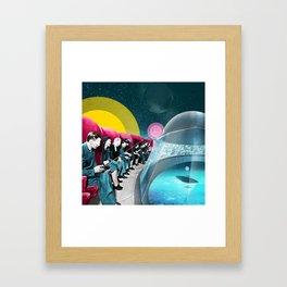 RC Invaders Framed Art Print