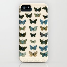 British and European Butterflies and Moths' iPhone Case