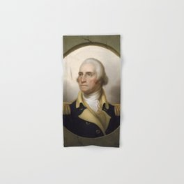George Washington Portrait Hand & Bath Towel