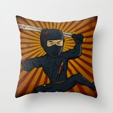 DK Ninja Throw Pillow