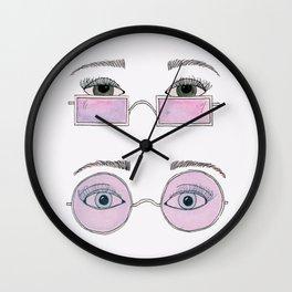 Bright Eyes Wall Clock