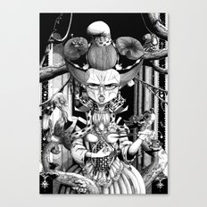 Marianne, the Red Queen Canvas Print