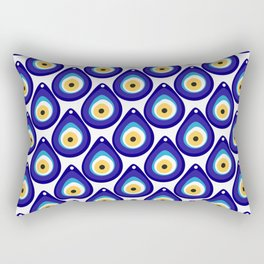 Evil eye protection pattern Rectangular Pillow