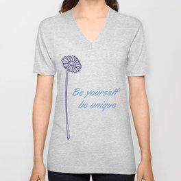 Be yourself Unisex V-Neck