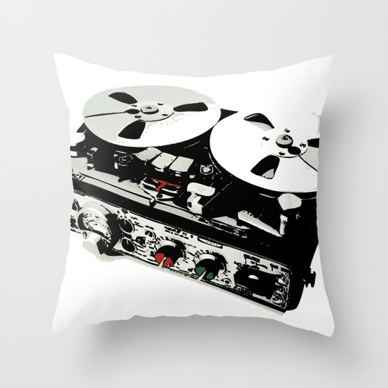 the ultimate tape recorder Throw Pillow