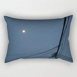Street Moon Rectangular Pillow