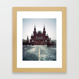 pinhole 582, moscow vignettes Framed Art Print