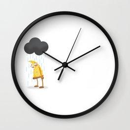 Hamlet, the sad pizza slice. Wall Clock