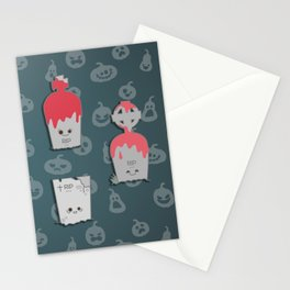 Terrific graves Stationery Cards