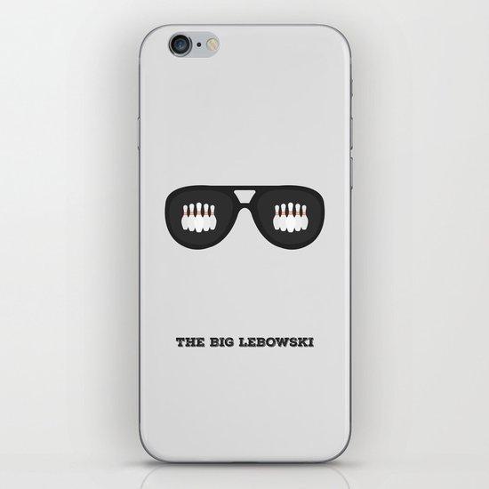 The Dude Minimalist iPhone & iPod Skin