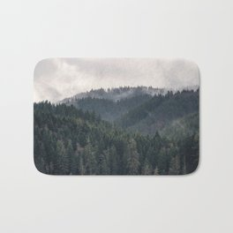 Pacific Northwest Forest - Nature Photography Bath Mat