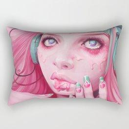FaceMelt Rectangular Pillow
