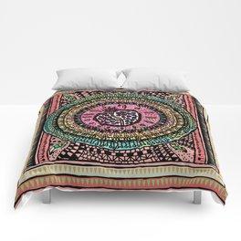 Pomegranate Doodle Comforters