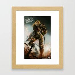 World War-Nintendo: Samus Framed Art Print