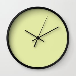 Luminary Green Wall Clock