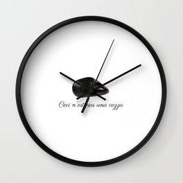 Treachery of Muscolo Wall Clock
