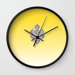 Limitless Infinity 2 (yellow) Wall Clock